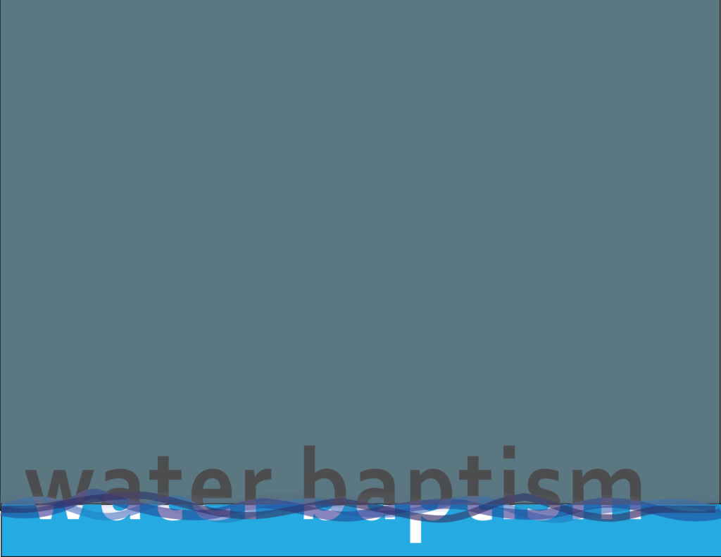 Baptism Immersed Into Christ Bay Ridge Christian Church